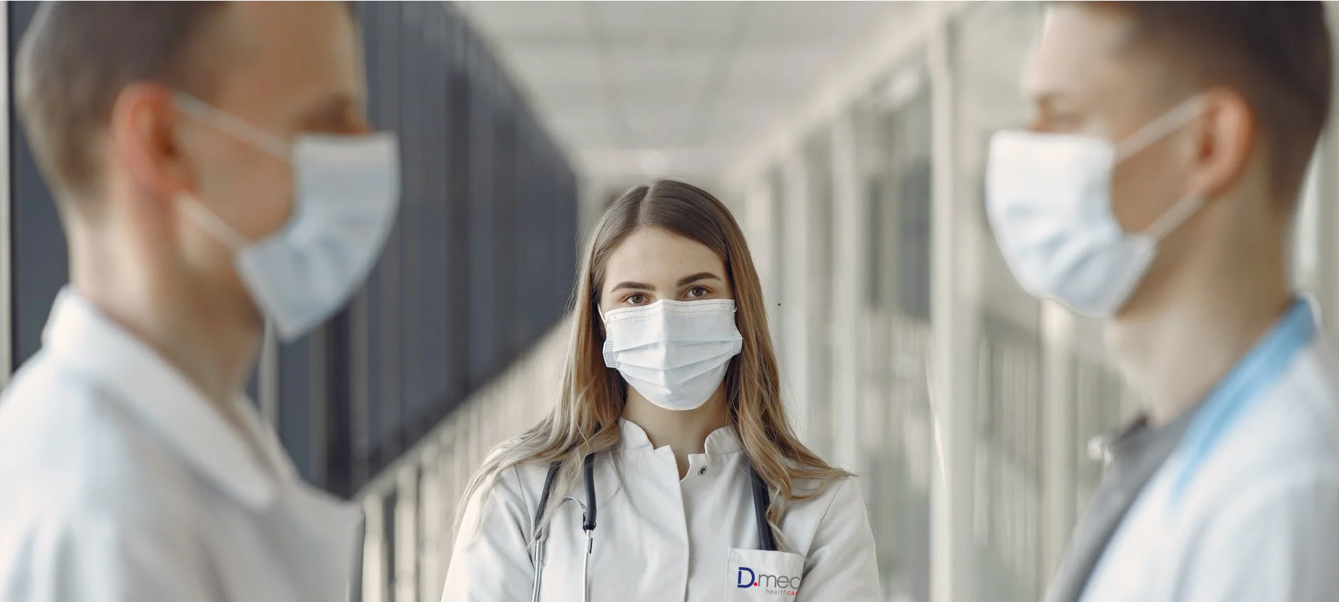 Nurses in corridor