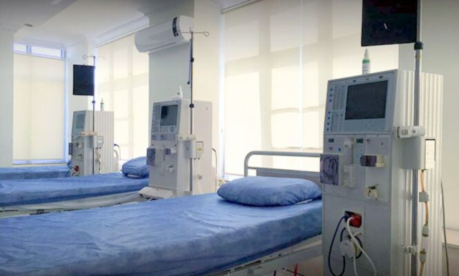 Nefrojy Clinic - patient beds