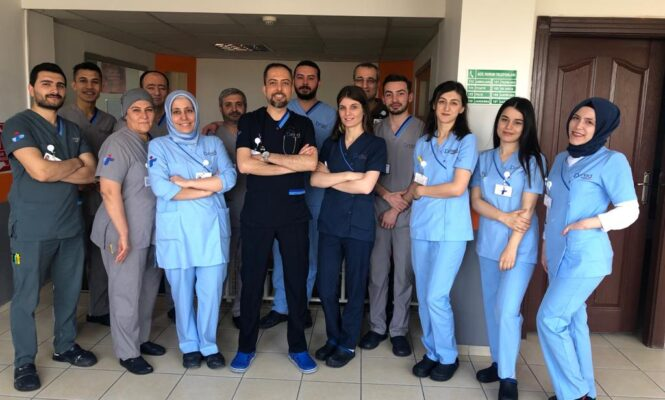 Medical staff group picture
